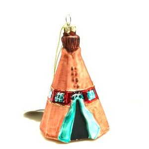 Teepee Tent Christmas Tree Ornament